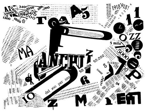 Marinetti - Les Mots en Liberté (1919)