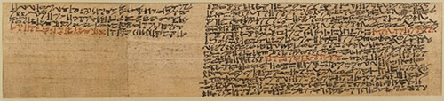 Égypte - Papyrus prisse (1900 av J.-C.)