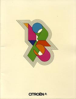 Brochure pour Citroën (1974)