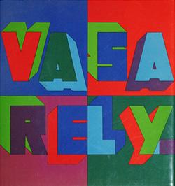 3e tome de la monographie de Victor Vasarely (1974)