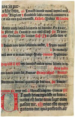 Fust et Schöffer - Psaultier de Mayence (1459)