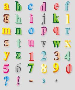 HandMadeFont distribue ses alphabets au format Photoshop