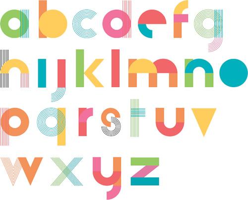 Hudson-Powell - Responsive type alphabet