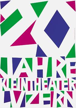 Niklaus Troxler - 20 ans du petit théâtre de Lucerne (1986)