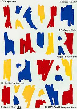 Niklaus Troxler - Affiche culturelle (1994)