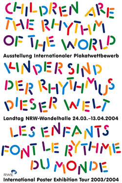 Niklaus Troxler - Children are the rhythm of the world (2004)