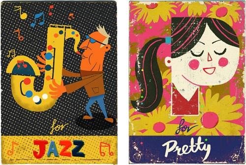 Paul Thurby - Lettres illustrées