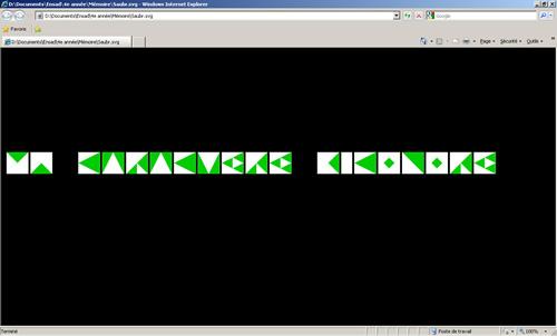 L'alphabet Saubr en SVG sous Internet Explorer
