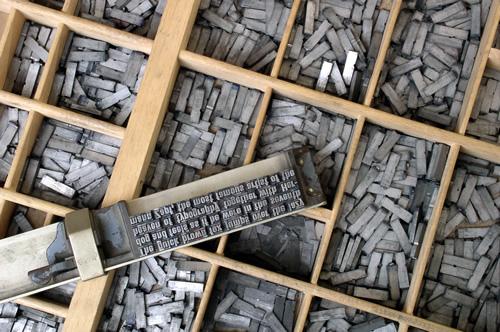 Willi Heidelbach - Casse typographique